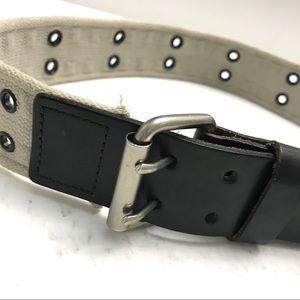 *NWOT* Aritzia - TNA canvas & leather belt.